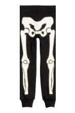 Jersey pyjamas - Black/Skeleton -  | H&M CN 2
